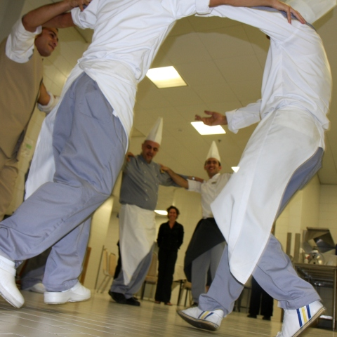 Dancing Chefs of Kempinski - Alejandro Bernabe Navarro and Sudqi Naddaf